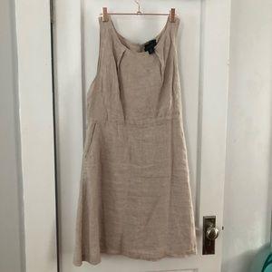 Tahari Linen Dress EUC